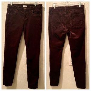 Edyson Raisin Skinny Corduroy Pants